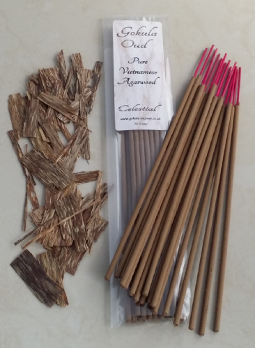 Pure Vietnamese Agarwood Incense Sticks - 20 grams - Celestial Quality